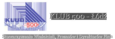 KLUB500 - <!--Łódź | Stowarzyszenie Właścicieli Prezesów i Dyrektorów Firm-->